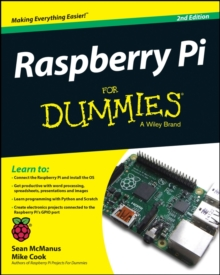 Raspberry Pi for Dummies 2E, Paperback Book