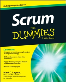 Scrum For Dummies, PDF eBook