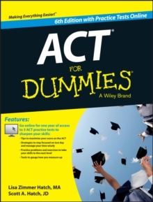 ACT For Dummies, with Online Practice Tests, EPUB eBook