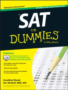 Sat for Dummies, 9th Edition with Online Practice, Paperback / softback Book