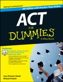 Act for Dummies, with Online Practice Tests, Paperback Book