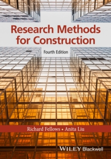Research Methods for Construction, Paperback Book