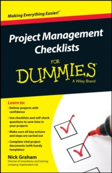 Project Management Checklists For Dummies, Paperback / softback Book