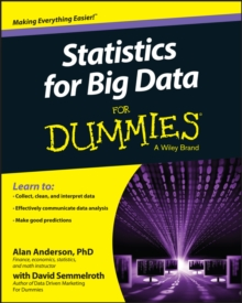 Statistics for Big Data For Dummies, Paperback / softback Book