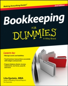 Bookkeeping For Dummies, Paperback / softback Book