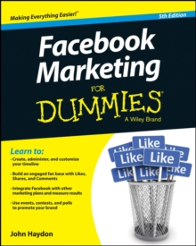 Facebook Marketing for Dummies, 5th Edition, Paperback Book