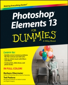 Photoshop Elements 13 for Dummies, Paperback Book