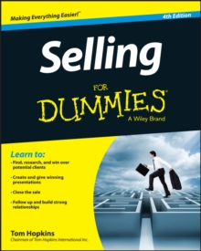 Selling For Dummies, Paperback / softback Book