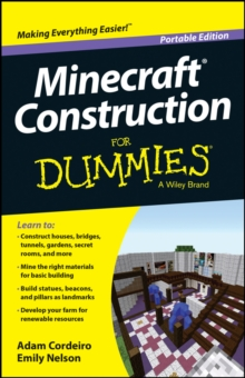 Minecraft Construction for Dummies, Portable Edition, Paperback Book