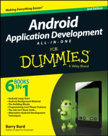 Android App Development All-In-One for Dummies, 2nd Edition, Paperback Book