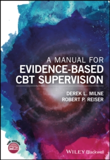 A Manual for Evidence-based Cbt Supervision, Paperback Book