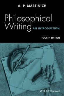 Philosophical Writing : An Introduction, Paperback / softback Book