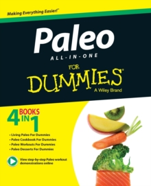Paleo All-In-One for Dummies, Paperback Book