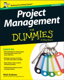 Project Management for Dummies - UK, PDF eBook