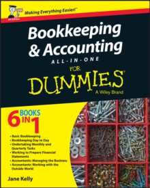 Bookkeeping and Accounting All-in-One For Dummies - UK, Paperback / softback Book