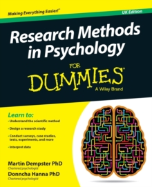 Research Methods in Psychology For Dummies, Paperback Book