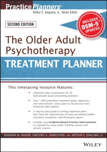 The Older Adult Psychotherapy Treatment Planner, with DSM-5 Updates, 2nd Edition, EPUB eBook