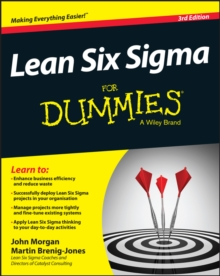 Lean Six Sigma For Dummies, Paperback / softback Book