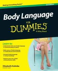 Body Language for Dummies 3E, Paperback Book
