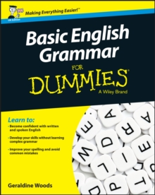 Basic English Grammar for Dummies, UK Edition, Paperback Book