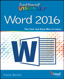 Teach Yourself Visually Word 2016, Paperback Book