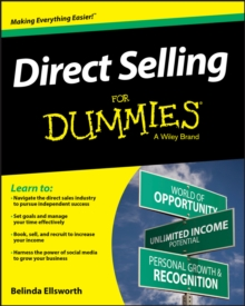 Direct Selling for Dummies, Paperback Book