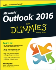 Outlook 2016 For Dummies, Paperback / softback Book