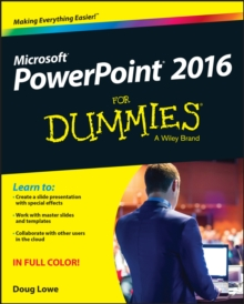 PowerPoint 2016 For Dummies, Paperback / softback Book