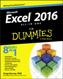 Excel 2016 All-In-One for Dummies, Paperback Book