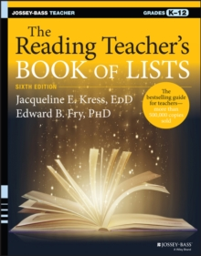 The Reading Teacher's Book of Lists, Paperback Book
