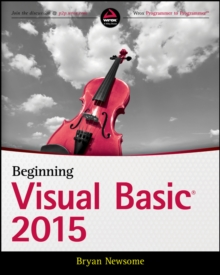 Beginning Visual Basic 2015, Paperback / softback Book