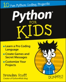 Python for Kids for Dummies, Paperback Book
