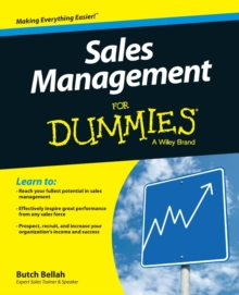 Sales Management for Dummies, Paperback Book