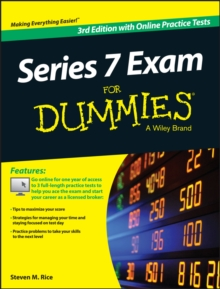 Series 7 Exam For Dummies, with Online Practice Tests, Paperback Book