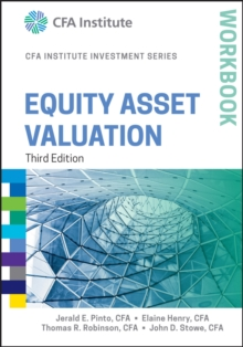 Equity Asset Valuation Workbook, Third Edition, Paperback Book