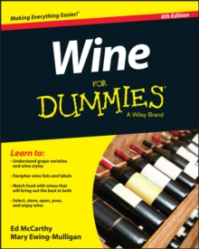 Wine for Dummies, 6th Edition, Paperback Book