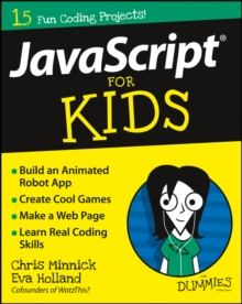 JavaScript for Kids for Dummies, Paperback Book
