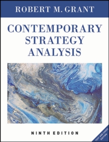 Contemporary Strategy Analysis : Text and Cases Edition, Paperback / softback Book