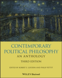 Contemporary Political Philosophy: An Anthology, Paperback / softback Book