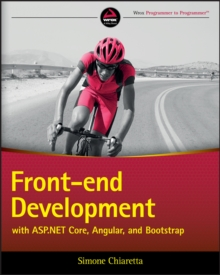 Front-end Development with ASP.NET Core, Angular, and Bootstrap, Paperback Book