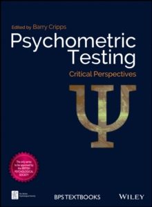 Psychometric Testing : Critical Perspectives, Hardback Book