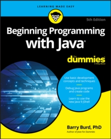 Beginning Programming with Java For Dummies, Paperback Book