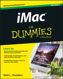 IMac for Dummies, 9th Edition, Paperback Book