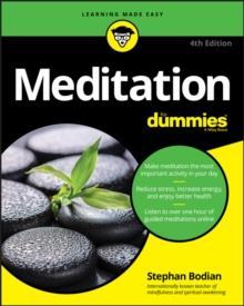 Meditation For Dummies, Paperback / softback Book