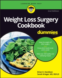 Weight Loss Surgery Cookbook for Dummies, 2nd Edition, Paperback Book