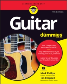Guitar for Dummies, 4th Edition, Paperback Book