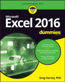 Excel 2016 For Dummies, Paperback / softback Book