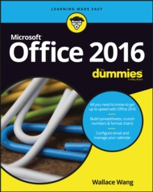 Office 2016 for Dummies Book + Videos Bundle, Paperback Book