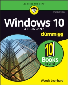 Windows 10 All-In-One for Dummies, 2nd Edition, Paperback Book