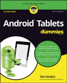 Android Tablets for Dummies, 4th Edition, Paperback Book